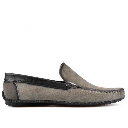 мъжки ежедневни обувки сиви 0138260