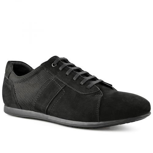 мъжки ежедневни обувки черни 0141213