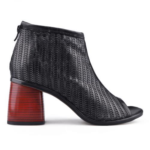 дамски ежедневни сандали черни 0134668