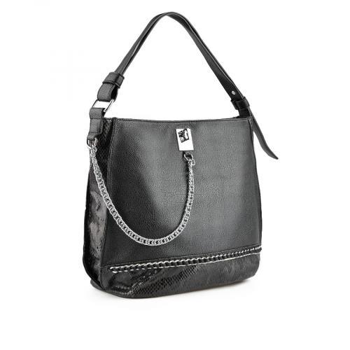 дамска ежедневна чанта черна 0137973