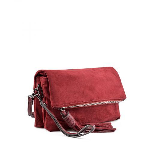 дамска ежедневна чанта червена 0139219
