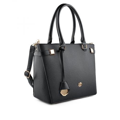 дамска ежедневна чанта черна 0141803