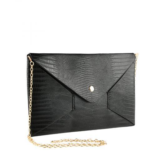 дамска елегантна чанта черна 0140909