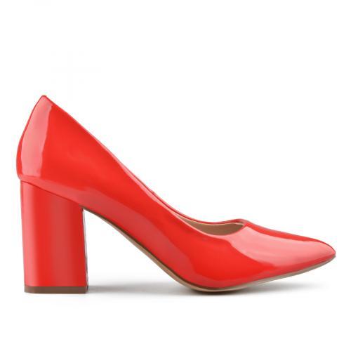дамски елегантни обувки червени 0139000