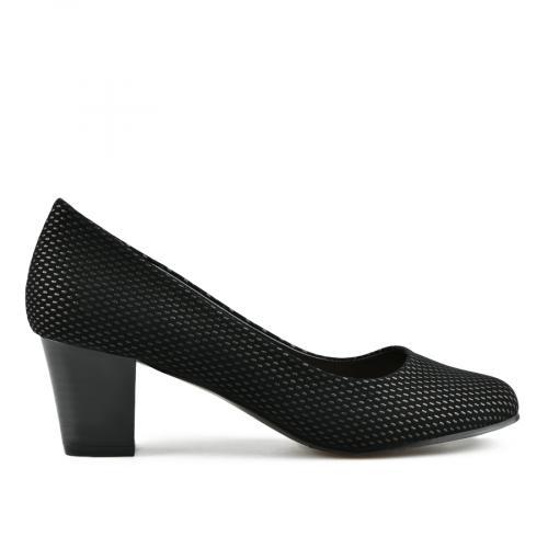 дамски елегантни обувки черни 0143234