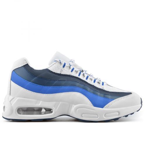 мъжки ежедневни обувки бели 0136954 0136954