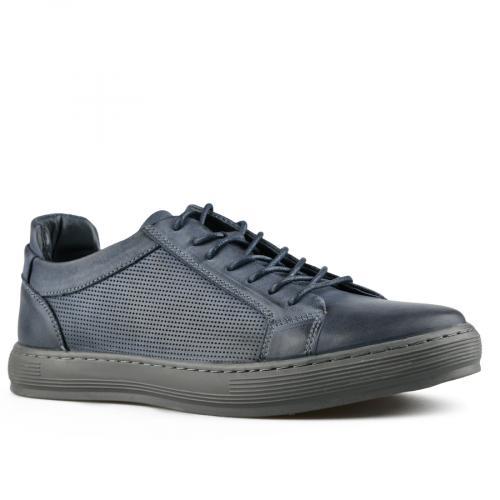 мъжки ежедневни обувки сини 0143464