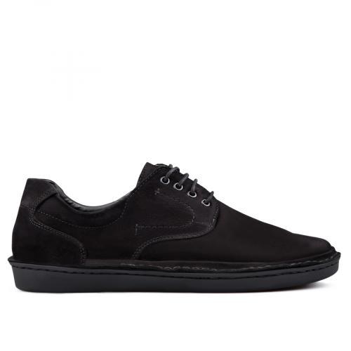 мъжки ежедневни обувки черни 0131003