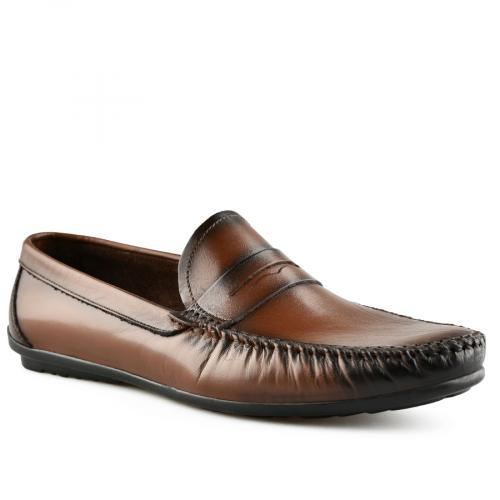 мъжки ежедневни обувки кафяви 0141246