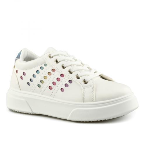дамски ежедневни обувки бели 0141498