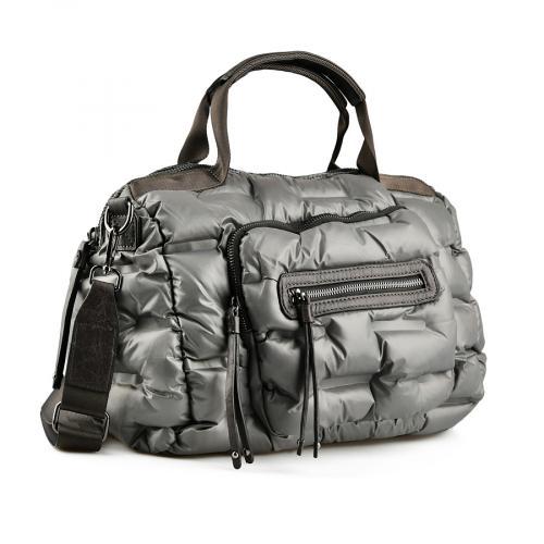 дамска ежедневна чанта сива 0145518