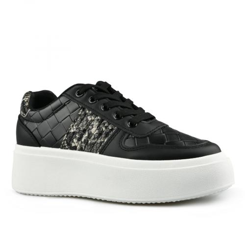 дамски ежедневни обувки черни 0142790