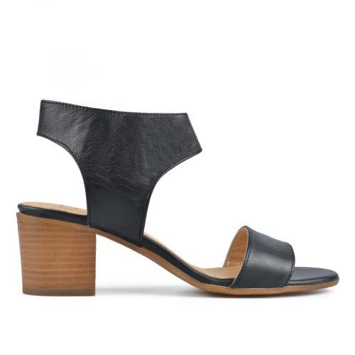 дамски елегантни сандали черни 0138458