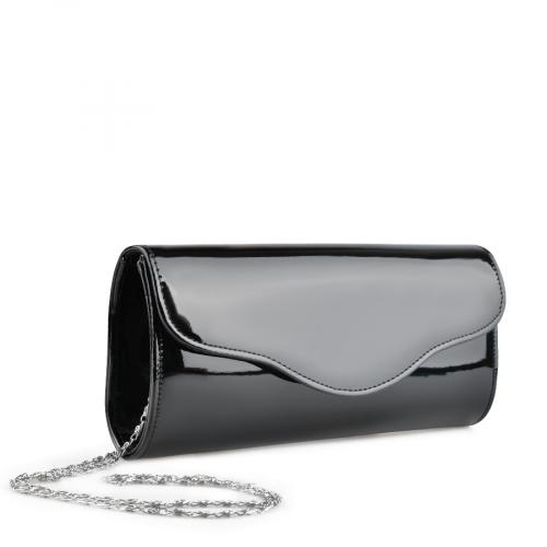 дамска елегантна чанта черна 0140892