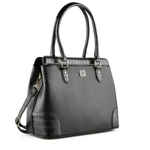 дамска ежедневна чанта черна 0141814