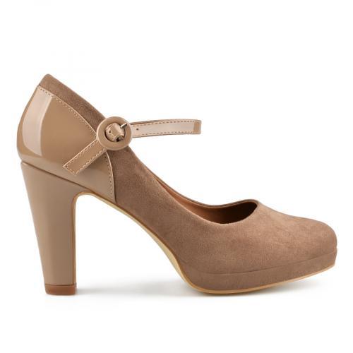 дамски елегантни обувки кафяви 0137695
