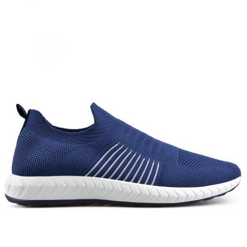 мъжки ежедневни обувки сини 0136936