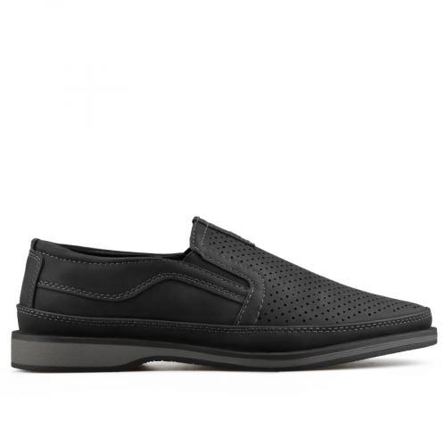 мъжки ежедневни обувки черни 0136978