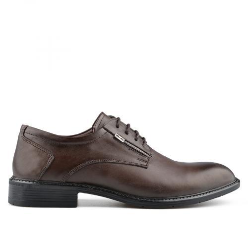мъжки елегантни обувки кафяви 0139487
