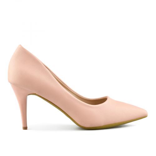 дамски елегантни обувки розови 0144375