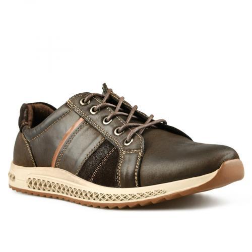 мъжки ежедневни обувки кафяви 0144922