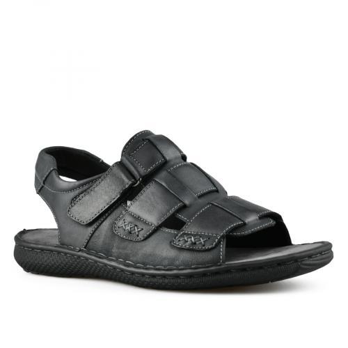 мъжки ежедневни сандали черни 0143321