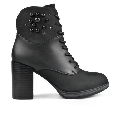 дамски елегантни боти черни 0135297