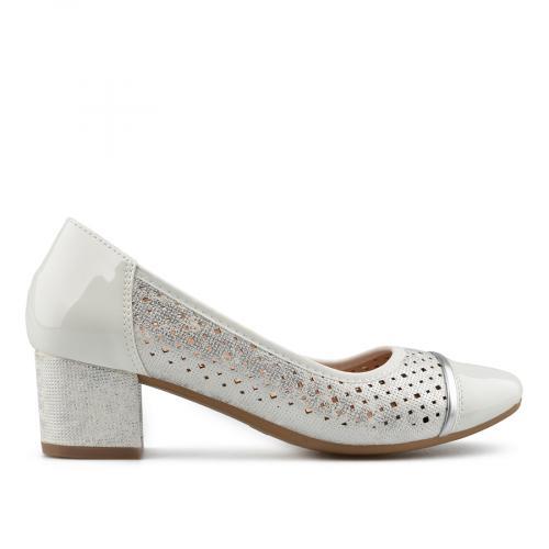 дамски елегантни обувки бели 0137681