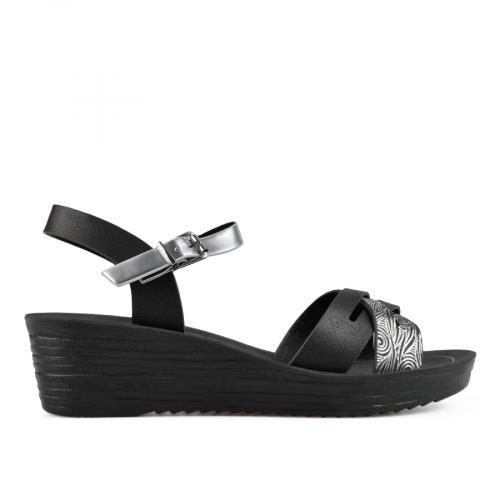дамски ежедневни сандали черни 0137599