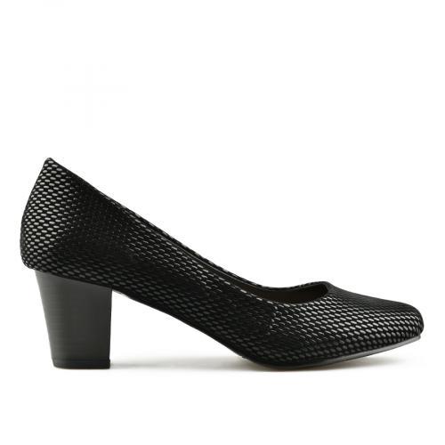 дамски елегантни обувки черни 0141646
