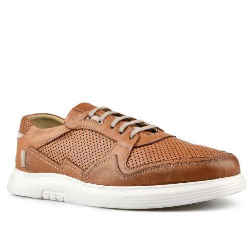 мъжки ежедневни обувки кафяви 0144248