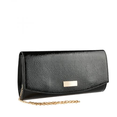дамска елегантна чанта черна 0140910