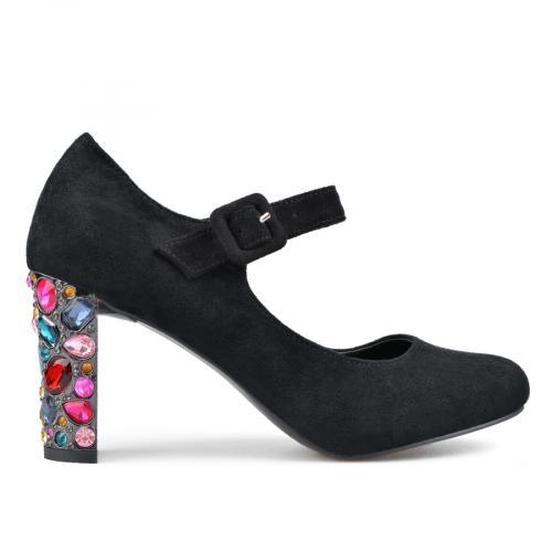 дамски елегантни обувки черни 0136228