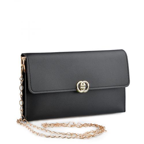 дамска  елегантна чанта черна 0139465