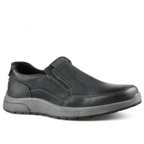 мъжки ежедневни обувки черни 0142113
