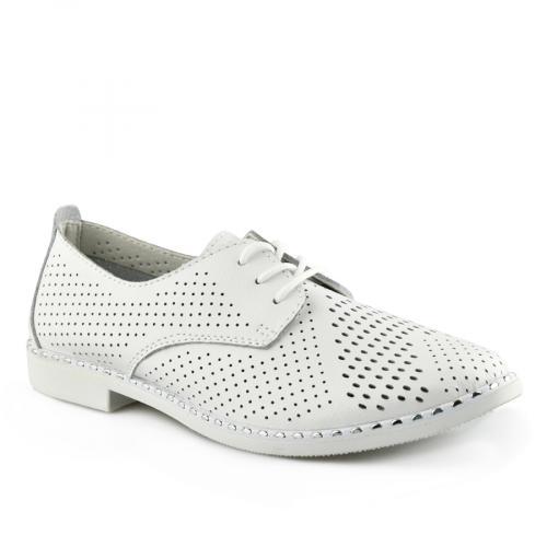 дамски ежедневни обувки бели 0139736