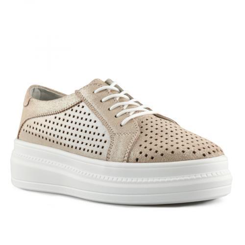 дамски ежедневни обувки златисти 0139811