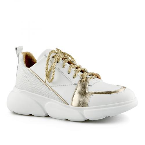 дамски ежедневни обувки бели 0141158