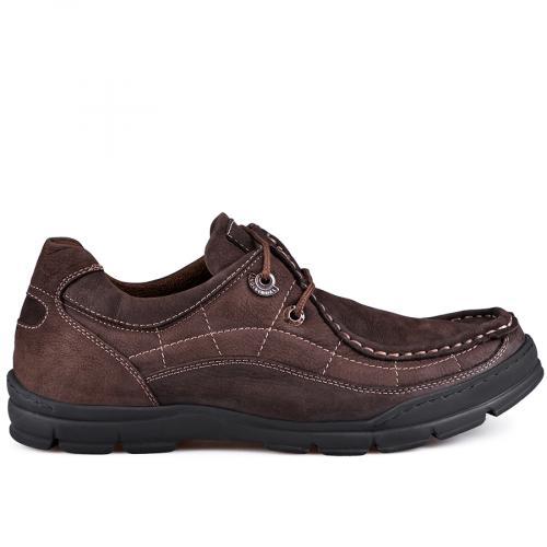 мъжки ежедневни обувки кафяви 0128778