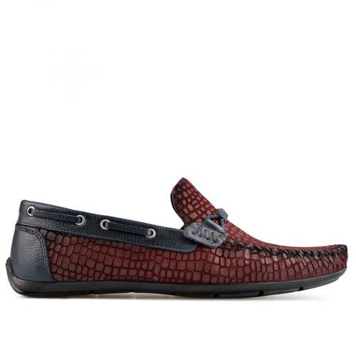 мъжки ежедневни обувки тъмно червени 0138273