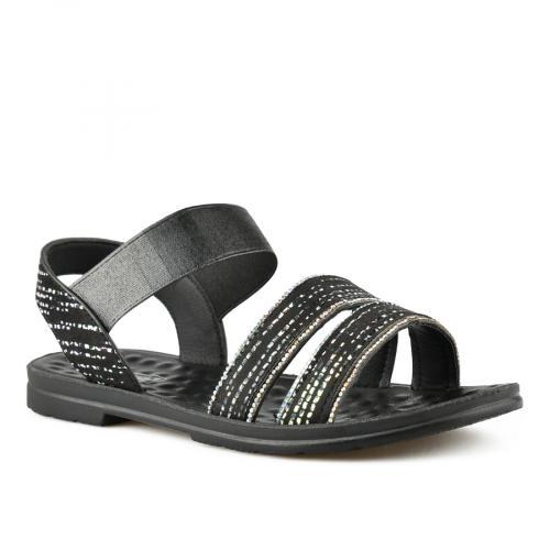 дамски ежедневни сандали черни 0143386
