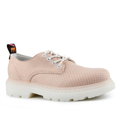 дамски ежедневни обувки розови 0142755