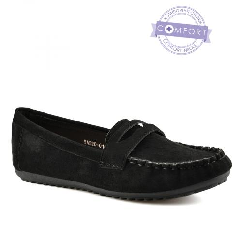 дамски ежедневни обувки черни 0140361