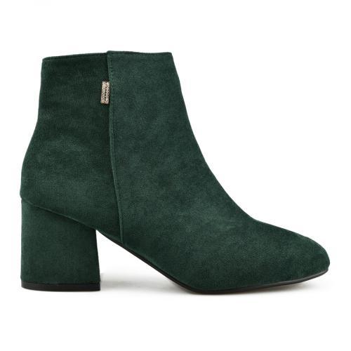 дамски елегантни боти зелени 0145005