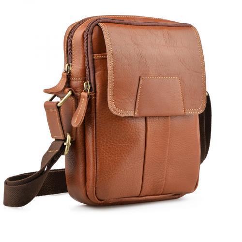мъжка ежедневна чанта кафява 0138055 0138055