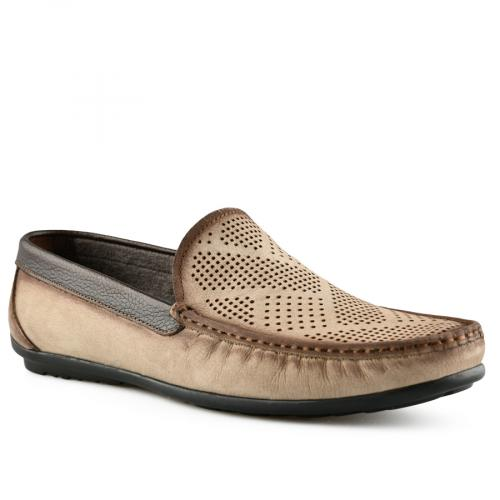 мъжки ежедневни обувки бежови 0141255