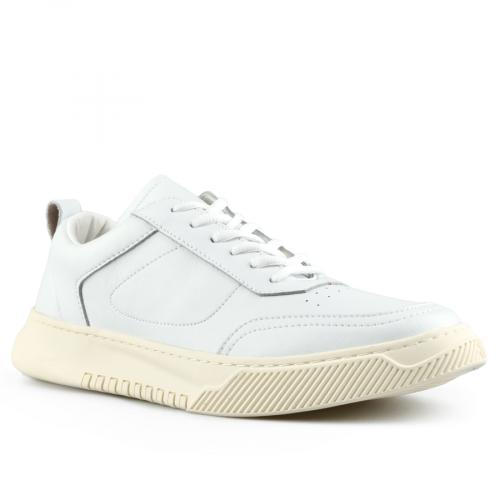 мъжки ежедневни обувки бели 0143463