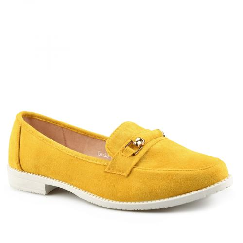 дамски ежедневни обувки жълти 0140357