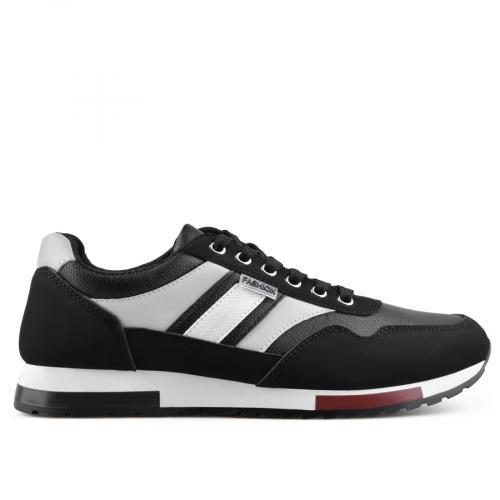 мъжки ежедневни обувки черни 0136937