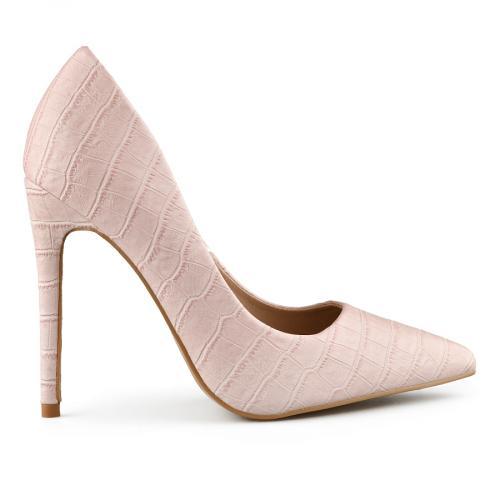 дамски елегантни обувки розови 0141060